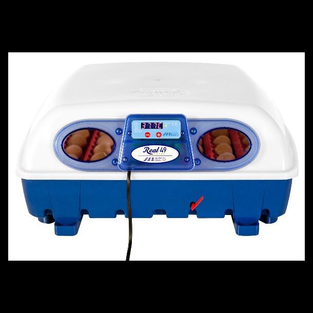 Halvautomatisk rugemaskine - REAL 49