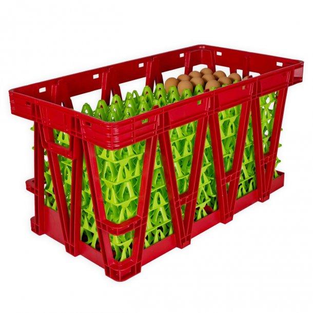 Transportkasse til æggebakker (360 æg)